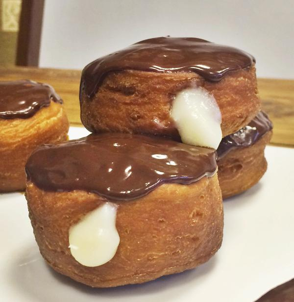 Vegan Boston Cream Pie #donuts