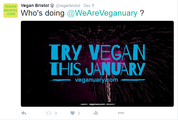 veganuary rt