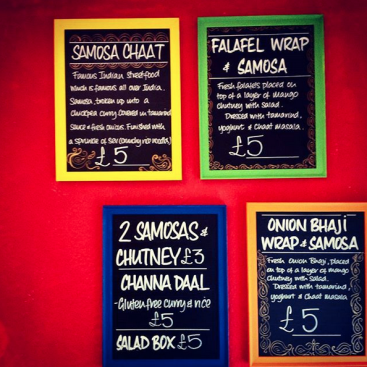 chaiwalla menu
