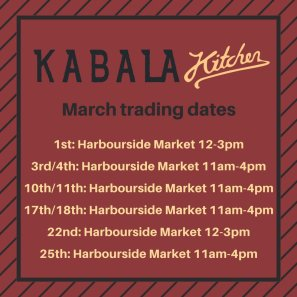 kabala kitchen march 2